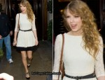 Sidewalk Style: Taylor Swift In Topshop