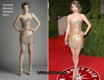 Taylor Swift In Zuhair Murad - 2011 Vanity Fair Oscar Party