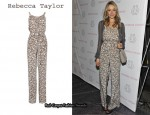 In Katrina Bowden's Closet - Rebecca Taylor Floral Jumpsuit