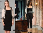 In Tyra Banks' Closet - Alice + Olivia Ruby Embellished Shrug