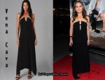 In Natalie Portman's Closet - Vena Cava Electric Dreams Long Dress