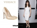In Michelle Monaghan's Closet - Versace Two Tone Pumps