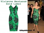 In Marisa Tomei's Closet - Vivienne Westwood Gold Label Lily Floral-Print Corset Dress