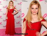 Abigail Breslin In Notte by Marchesa - 2011 Breast Cancer Research Foundation's Hot Pink Party