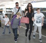The Beckham's Head To London For The Royal Wedding
