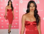 Camila Alves In Dolce & Gabbana - Us Weekly Hot Hollywood Party