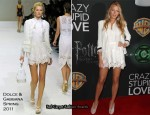 Blake Lively In Dolce & Gabbana - 2011 Cinemacon Warner Bros Presentation