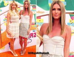 Paris Hilton In Opening Ceremony & Nicky Hilton In Proenza Schouler - 2011 Nickelodeon Kids' Choice Awards