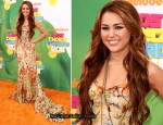 Miley Cyrus In Dolce & Gabbana - 2011 Nickelodeon Kids' Choice Awards