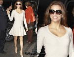 Eva Longoria In Azzedine Alaia - ABC's Good Morning America