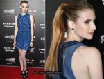"Emma Roberts In Burberry Prorsum - ""Scream 4"" LA Premiere"