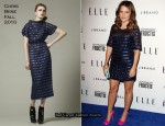 Sophia Bush In Chris Benz - Elle's Women In Music Event