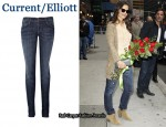 In Katie Holmes' Closet - Current/Elliott The Skinny Jeans