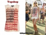 In Kate Bosworth's Closet - Topshop American Flag Tank Top