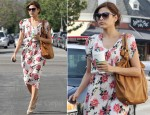 Sidewalk Style: Eva Mendes In Free People