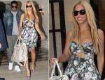 Sidewalk Style: Beyonce Knowles In Preen