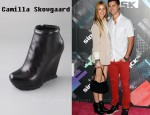 In Whitney Port's Closet - Camilla Skovgaard Round Toe Wedge Booties