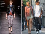 Sidewalk Style: Beyonce Knowles In Isabel Marant