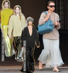 Ashley Olsen Channels Fall Trend During Spring