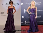 Carrie Underwood In Jean Fares Couture - 2011 Academy Of Country Music Awards
