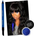 Look We Love: Jennifer Hudson's Bold Blue Eyeshadow