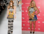 Jessica Simpson In Etro - Us Weekly Hot Hollywood Party