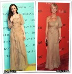 Who Wore Alberta Ferretti Better? Pace Wu or Sandra Lee