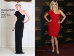 "Reese Witherspoon In Giambattista Valli - ""Water for Elephants"" Paris Premiere"