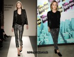Saoirse Ronan In Balmain - MTV's The Seven