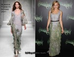 "Abbie Cornish In Alberta Ferretti - ""Sucker Punch"" Sydney Premiere"