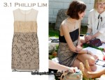 In Alexa Chung's Closet - 3.1 Phillip Lim Embellished Dress