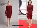 "Alexis Bledel In Stella McCartney - ""The Conspirator"" Washington DC Premiere"