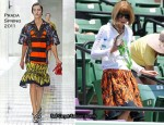 Anna Wintour In Prada - Sony Ericsson Open