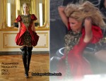 Beyonce Knowles Shoots New Music Video In Alexander McQueen