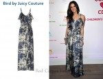 In Abigail Spencer's Closet - Bird by Juicy Couture Printed Maxi Dress