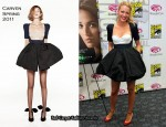 Blake Lively In Carven - WonderCon 2011