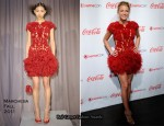 Blake Lively In Marchesa - 2011 CinemaCon Big Screen Achievement Awards