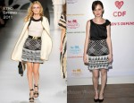 Alexis Bledel In Acne & Etro - Coach Benefit For The Children's Defense Fund