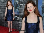 Bonnie Wright In Louis Vuitton - Grand Opening Of Harry Potter: The Exhibition
