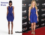 In Kristen Bell's Closet - Vanessa Bruno Reversible Tie Dress
