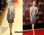 "Cynthia Nixon In Carolina Herrera - ""An Evening of Practical Magic"""