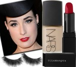 Look We Love: Dita Von Teese's 40s Style Face