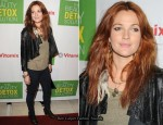 Drew Barrymore In Catherine Malandrino - Kimberly Snyder Book Launch Event