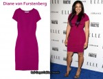 In Jordin Sparks' Closet - Diane von Furstenberg Trapp Paneled Stretch-Jersey Dress