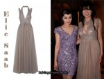 In Daisy Lowe's Closet - Elie Saab Gown