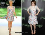 "Emily Browning In Erdem - ""Sucker Punch"" Sydney Premiere"