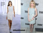 Emma Stone In Preen - Conde Nast Traveler Annual Hot List Party