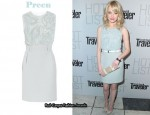 In Emma Stone's Closet - Preen Beaded Dress