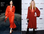 "Evan Rachel Wood In Gucci - ""The Conspirator"" New York Premiere"