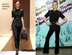 Evan Rachel Wood In Gucci - MTVs The Seven